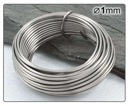 Nerezový drát 1mm/5m