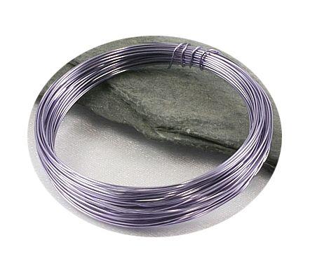 Světle fialový drát 0,3mm/5m