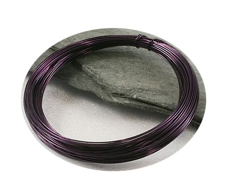 Tmavě fialový drát 0,3mm/5m