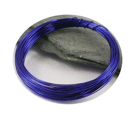 Tmavě modrý drát 0,3mm/5m