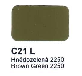 C21 L Hnědozelená CSN 2250 Agama