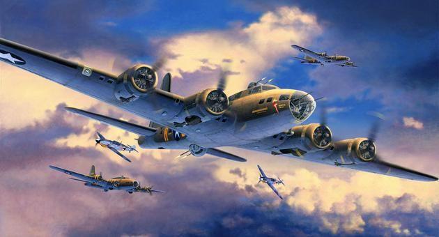 """B-17F """"Memphis Belle"""" Revell"""