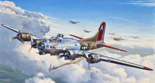 B-17G Flying Fortress Revell