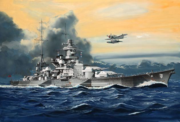 Battleship Scharnhorst Revell