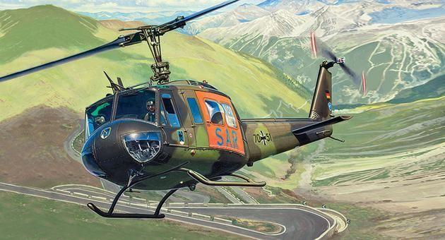 "Bell UH-1D ""SAR"" Revell"
