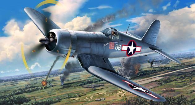 F4U-1A Corsair Revell