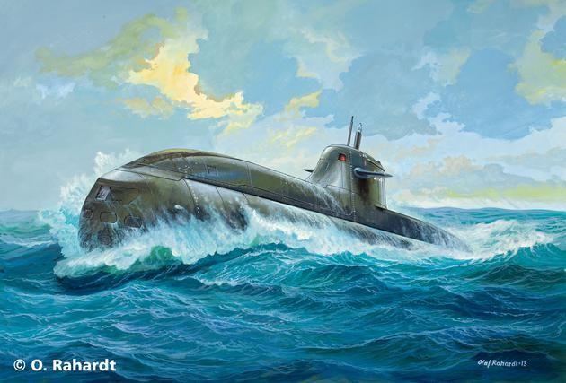German Submarine U212A class Revell