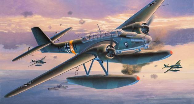 Heinkel He 115 B/C Seaplane Revell