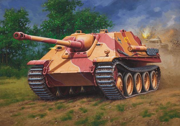 Jagdpanther Revell