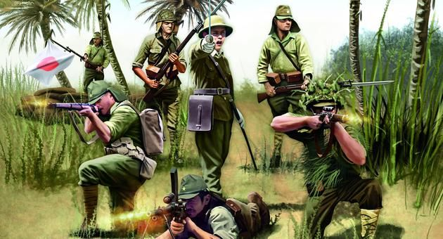 Japanese Infantry WWII Revell