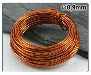 Měděný drát 0,9mm/5m