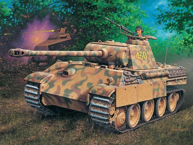 Kpfw. V Panther Ausg. G Revell