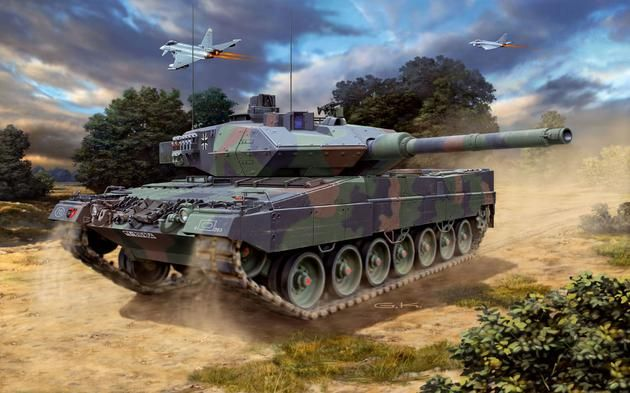 """Leopard"""" 2 A6M Revell"""