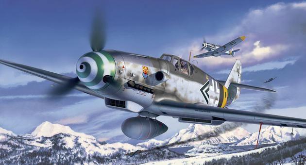 Messerschmitt Bf109 G-6 Revell