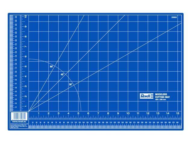 Modelářská podložka velká modrá pro řezání Revell