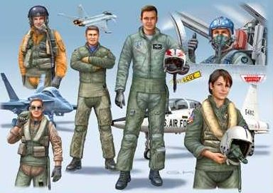 NATO PILOTS (D/GB/USA) modern Revell