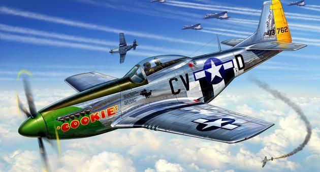 P-51D MUSTANG Revell