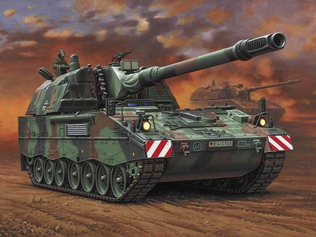 Panzerhaubitze PzH 2000 Revell