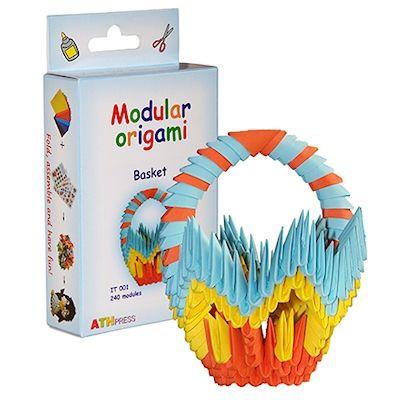Papírove Origami sada - Košík