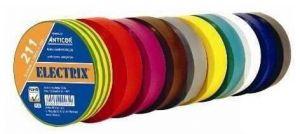 Páska izolační 15mm/10m - sada 10 barev