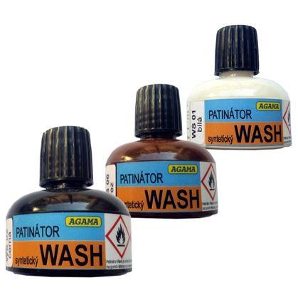 Patinátor Wash WS 05 hnědá Agama