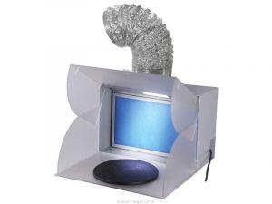 Přenosný stříkací box s odsáváním BD-512