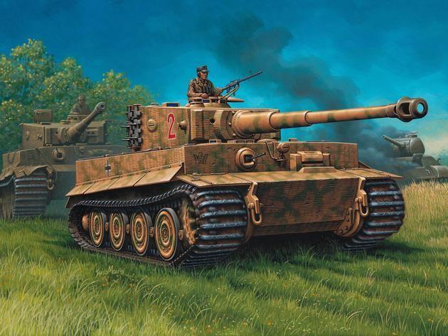 PzKpfw IV 'Tiger' I Ausf.E Revell