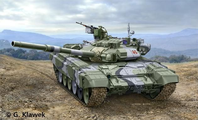 Russian Battle Tank T-90A Revell
