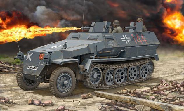 Sd.Kfz. 251/16 Ausf. C Revell
