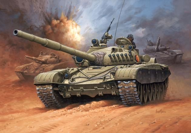 Soviet Battle T-72 M1 Revell