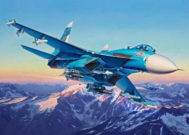 Sukhoi Su-27SM Revell