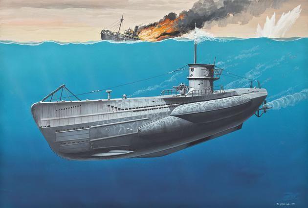 U-Boot Typ VIIC Revell