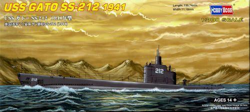 USS GATO SS-212 1941 Hobby Boss