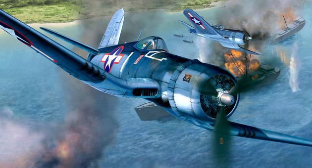 Vought F4U-1D Corsair Revell
