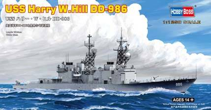 USS Harry W. Hill (DD-986) Hobby Boss