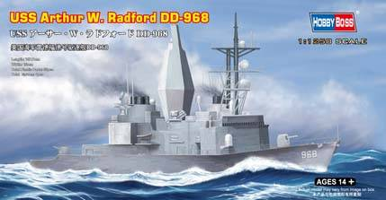 USS Arthur W. Radford DD-968 Hobby Boss