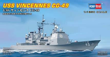 USS Vincennes CG-49 Hobby Boss