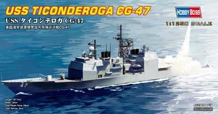 USS Ticonderoga CG-47 Hobby Boss