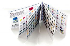 Vzorník barev - tištěný kapesní