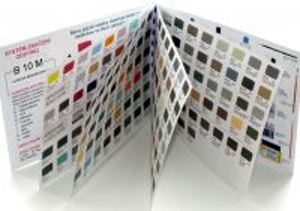 Vzorník barev - tištěný velký