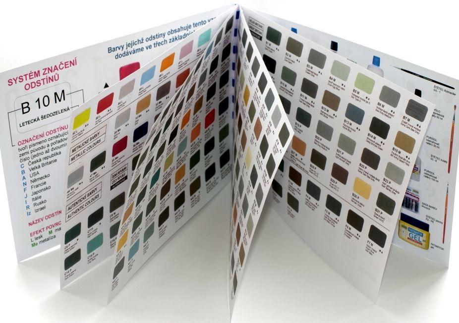 Vzorník barev - tištěný velký Agama
