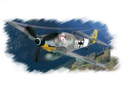 Bf109G(early) Hobby Boss