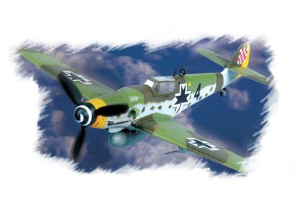 Bf109G-10 Hobby Boss