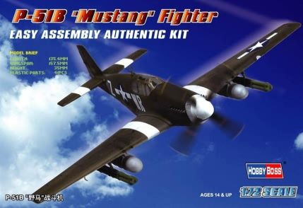 P-51B Mustang Hobby Boss