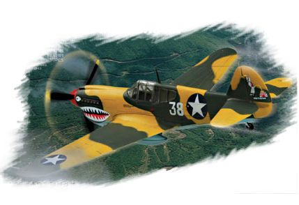 P-40E Kittyhawk Hobby Boss