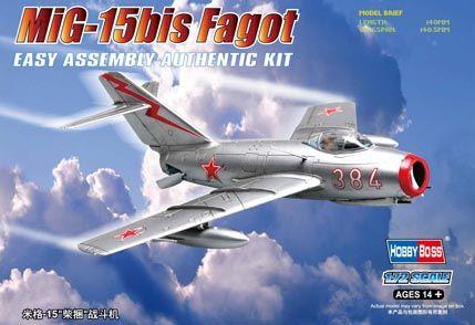 MiG-15bis Fagot Hobby Boss