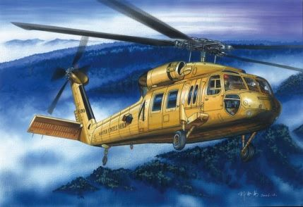 UH-60A Blackhawk Hobby Boss