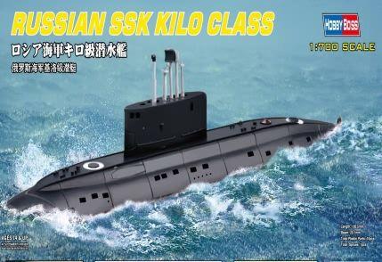 Russian NAVY Kilo Class Hobby Boss