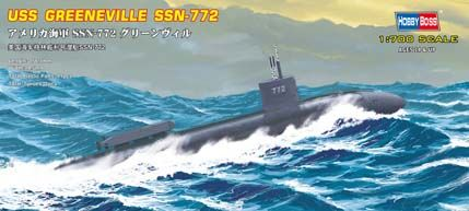USS Navy Greneeville submarine SSN-772 Hobby Boss