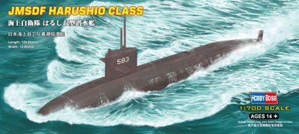 JMSDF Harushio class Subm. Hobby Boss